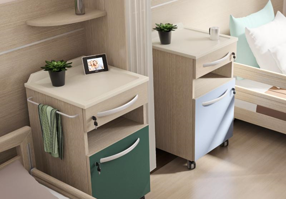 Custom made hospital furniture