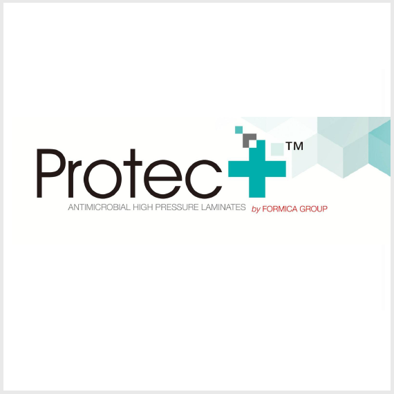 High pressure laminate hospital bedside cabinet